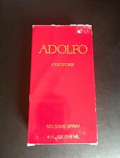 Adolfo Couture 4oz/ 118ml Eau de Cologne Spray. New in Box. Rare. 5 Day Sale