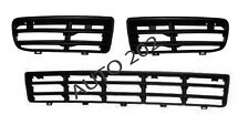 VW Golf Mk4 Front bumper lower side grille grill RIGHT + LEFT + CENTER 1999-2004