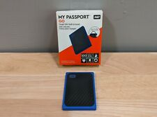 WD 500GB My Passport Go Portable External SSD Blue (WDBMCG5000ABT-WESN)