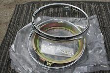 HONDA CB750 CB 550 COMPLETE KIT headlight trim ring rim & retainer 33101-300-673
