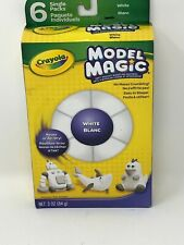 Crayola Model Magic .5oz 6/Pkg-White