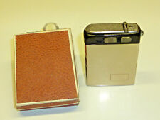 """DOMO """"PYROLUX"""" VINTAGE ELECTRIC POCKET LIGHTER WITH LAMP - 1938 - GERMANY - RARE"""