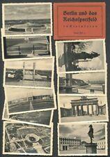 677214) Leporello Olympiade 1936 Berlin und das Reichssportfeld