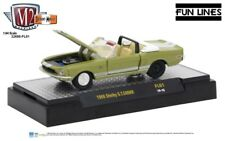 L102 32600 FL01 M2 DETROIT MUSCLE  1968  SHELBY GT500KR 1:64 FORD MUSTANG GREEN