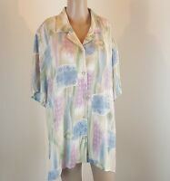 Alfred Dunner Women's Blouse Pastel Size 16W Plus Size