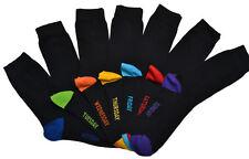 WB Socks Men's Days of the Week socks 7 pairs per pack