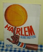 HARLEM GLOBETROTTERS 1976 Original Italy basket programma