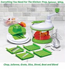 13 PIECE SUPER SLICER BY COOK WORKS AR+COOK PERFECT FOR KITCHEN PREP IMMED SHIP