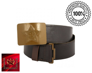 Original USSR belt, Russian, Soviet Red Army soldier from a military warehouse☆