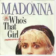 45 TOURS 2 TITRES / MADONNA  WHO S THAT  GIRL    A6