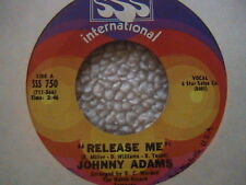 "JOHNNY ADAMS ""RELEASE ME"" / ""YOU MAKE A NEW MAN OUT OF ME"" 7"" 45 NORTHERN SOUL"