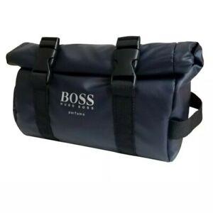 Hugo Boss Navy Mens Toiletry Bag