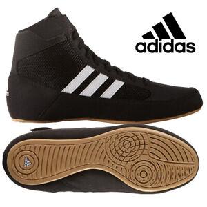 Ringerschuhe Kinder Adidas Havoc Schwarz Black Wrestling Shoes Ringen