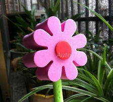 Cute Pink & Red Daisy Flowers Antenna Balls Car Aerial Ball Antenna Topper Decor