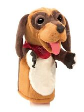 Folkmanis Quality Comfortable Puppets Pretend Fun Animal Puppets (Stage Dog)