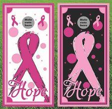 Cancer Awareness Cornhole Wrap Set - Fast Shipping!!