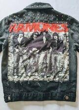 Ramones Mens Punk Rock Vintage Studded Jacket Size S