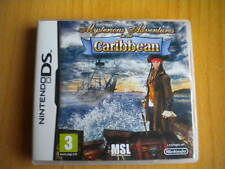 MYSTERIOUS ADVENTURES in the Caribbean ! JEU DS / DS LITE / DSI /  DSI XL / 2 DS