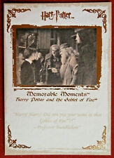 HARRY POTTER - MEMORABLE MOMENTS #1 - Card #61 - DID YOU PUT YOUR NAME IN?