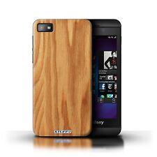 Hülle/Case Blackberry Z10 / Holz/Holzmaserung Muster / Eiche