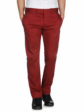 Diesel Men's Chino Pant Chi-regs-a 40g Red Trousers Available Sizes 32 In.