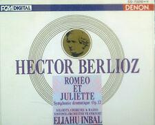 2 ERCD Berlioz-Roméo et Juliette, Inbal, DENON, Japon-CD