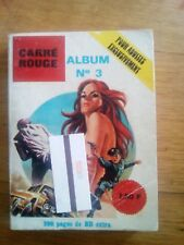 EDITIONS BELLE FRANCE BD ADULTE EROTIQUE N°3 CARRE ROUGE ANNEES 70