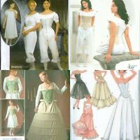 Simplicity Historical Under Garments Costume Pattern Renaissance New OOP U Pick