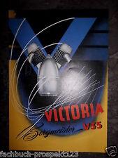 VICTORIA BERGMEISTER V35 PROSPEKT 1951 NÜRNBERG OLDTIMER MOTORRAD