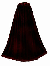 LONG red & black tie-dye PRINCESS A-LINE plus size SKIRT 20 22 2xl 3xl goth boho