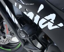 R&G RACING BLACK AERO CRASH PROTECTORS Kawasaki ZX10-R (2015-2016)
