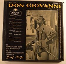 mozart 4lp don giovanni complete a 4406 josef krips  vg+/vg++/m-