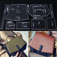 12 Stücke Acryl Handtasche Muster Vorlage Schablone DIY Ledertaschen Handwerk