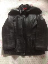 Luxurious ANNE KLEIN Black Lamb Skin Ladies Jacket-size S/ 10  VGC