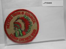CAMP DIERKS TAN TWILL NETSEO TRAILS COUNCIL F10405