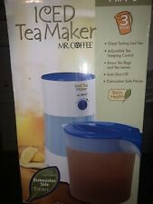 mr coffee ice tea maker