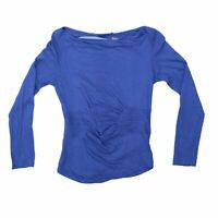Comptoir Des Cotonniers Women's Long Sleeve Top XS Colour:  Blue
