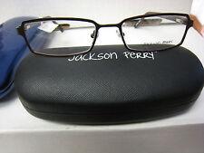 JACKSON PERRY  EYEGLASSES FRAME ZADOK style in  BROWN 55-18-145  DEMO