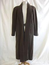 Ladies Coat - Cashmere & Wool, size S, green, smart, classic, longline - 2235