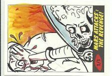2017 Topps Mars Attacks The Revenge ! Martian Sketch Card by Cathy Razim