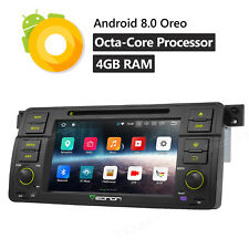 """US For BMW M3 E46 7""""Android 8.0 Car Stereo Radio DVD GPS Navigation 8Core OBD2 B"""