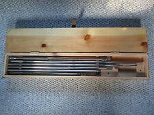 "Starrett 32"" - 107"" Long Range Tubular Inside Micrometer Mic .001"" Grad 121CZ"