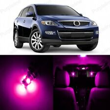 13 x Pink LED Interior Lights Package For 2007 - 2017 Mazda CX-9 CX9 + TOOL