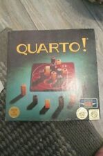 1993 Quarto Game Board and Wooden Blocks(Gigamic)