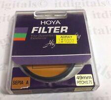Hoya 49mm Special Effect Sepia A Lens Filter For Film SLR DSLR 49 mm Japan A