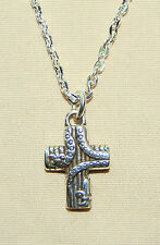 New BRIGHTON Sanctum Cross LISIEUX CROSS on custom necklace  FREE SHIPPING !
