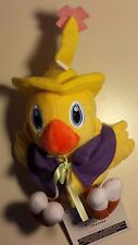 "FINAL FANTASY ""CHOCOBO W/CAPE"" 6"" PLUSH TOY FF MAGE WIZARD"