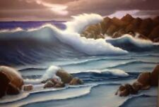 NATURAL SOUNDS CD CRASHING WAVES ON ROCKS/SHORE RELAXATION WAVE MUSIC 80 MINS