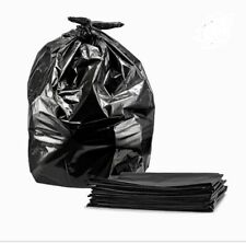 60 Count Heavy Duty Trash Bags 55 Gallons.  35W*55H 1.5 Mil Thick Garbage Bags