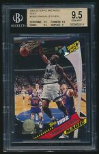 1992-93 Topps Archives Gold rookie #150G Shaquille O'Neal rc BGS 9.5
